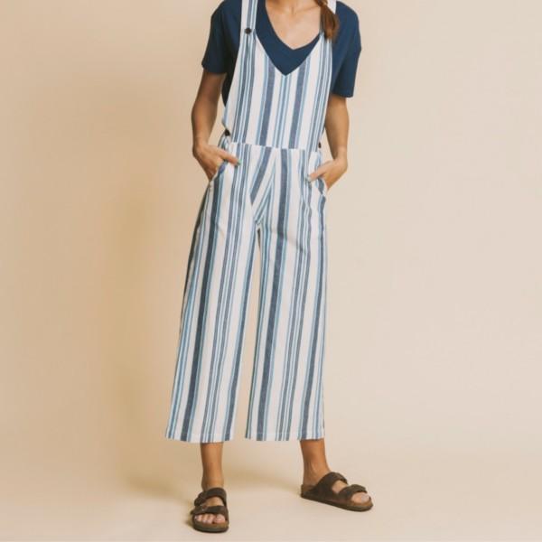 mono-mujer-blue-stripes-kasai