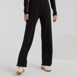 pantalón-largo-mujer-rib-wide-black