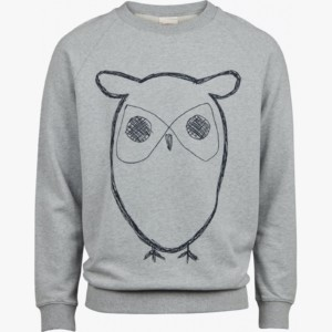 sweat-shirt-owl-print-grey-melange