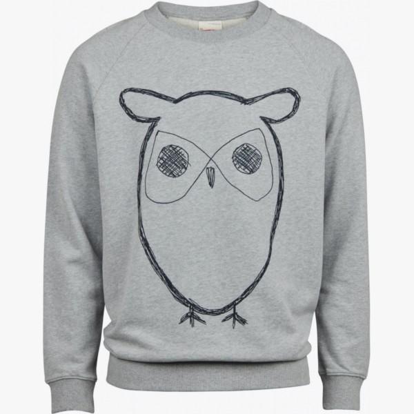 sweat-shirt-owl-print-grey-melange