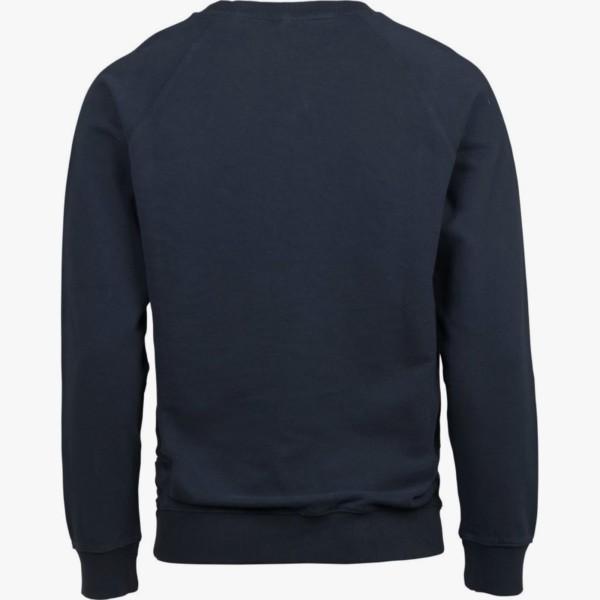 sweat-shirt-owl-print-insgina-blue-melange-back