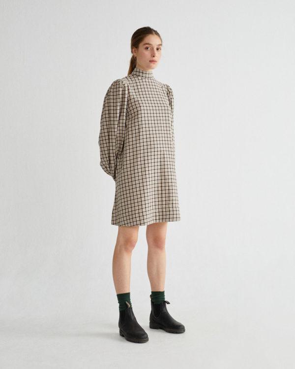 small-checks-flora-dress