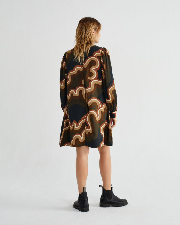 psychedelic-black-flora-dress